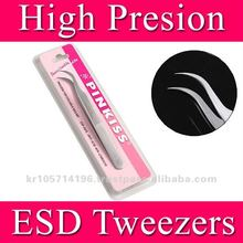 PINKISS tweezers for eyelash extension ( 7-SA)/eyelash extension tweezer