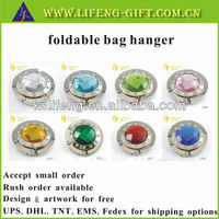 Custom made popular christmas gift foldable bag hanger in stock