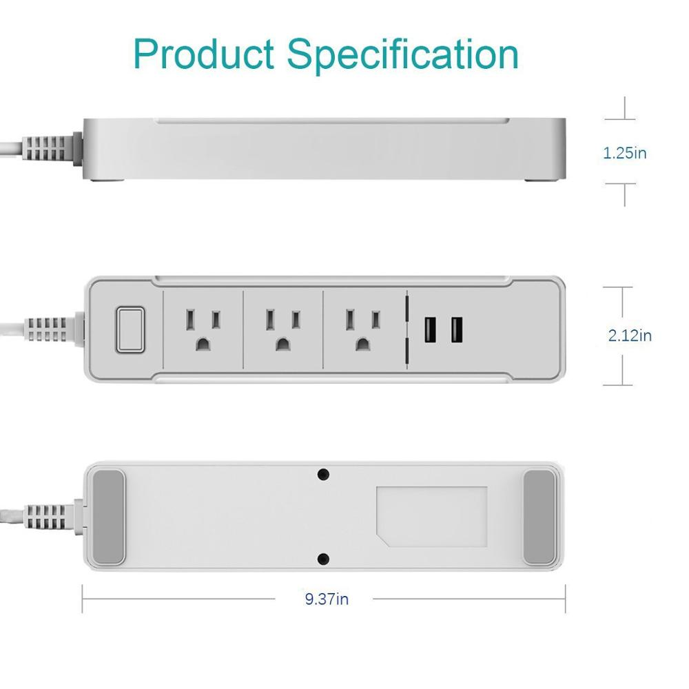 IPP4 power strip alexa smart <strong>plugs</strong>