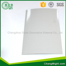 Good quality High glossy white pressure laminate manufacture in changzhou