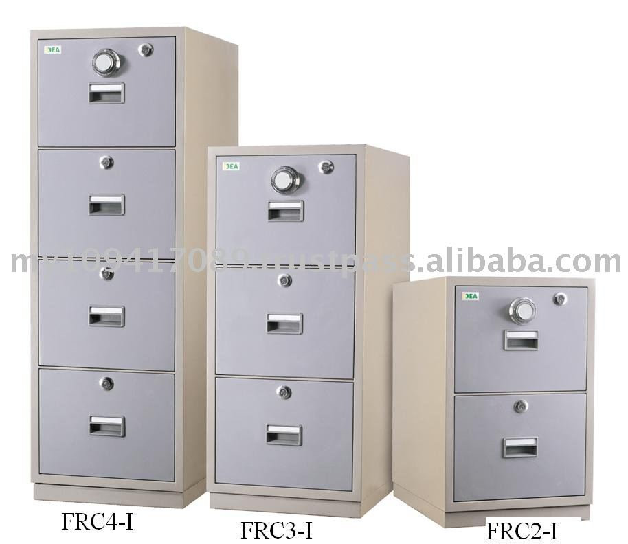 3 Drawers Fire Resistant Cabinet Individual Locking