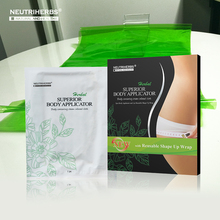 Safe and Effective 100% Natural Herbal Botanical Weight Slimming Loss Soft Body Applicator Wrap Gel Belt