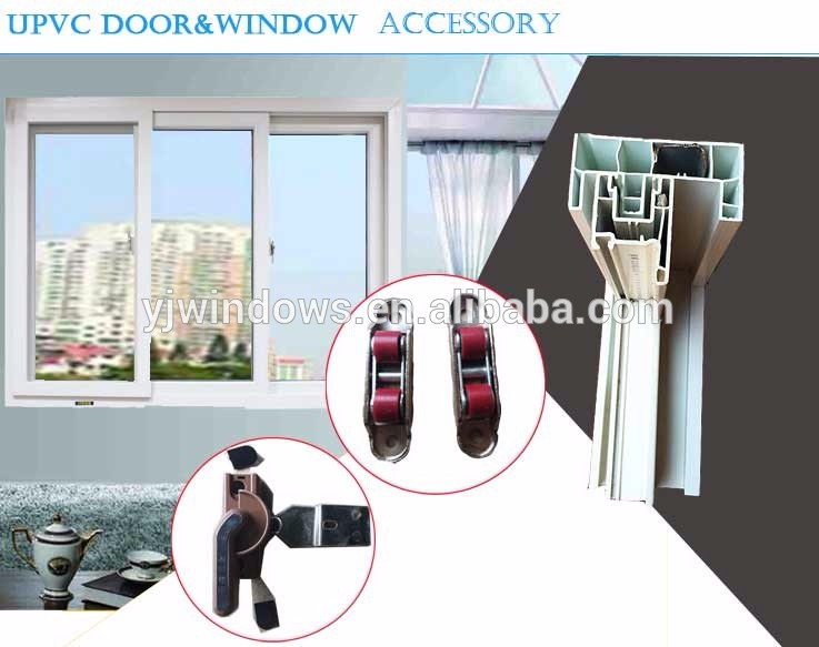 Interior Home  Upvc Windows Cheap Price Tempered Glass Grill Design Pvc Sliding Window