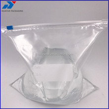 Slider Freezer Bags Transparent PE Plastic Waterproof Ziplock Storage Bags