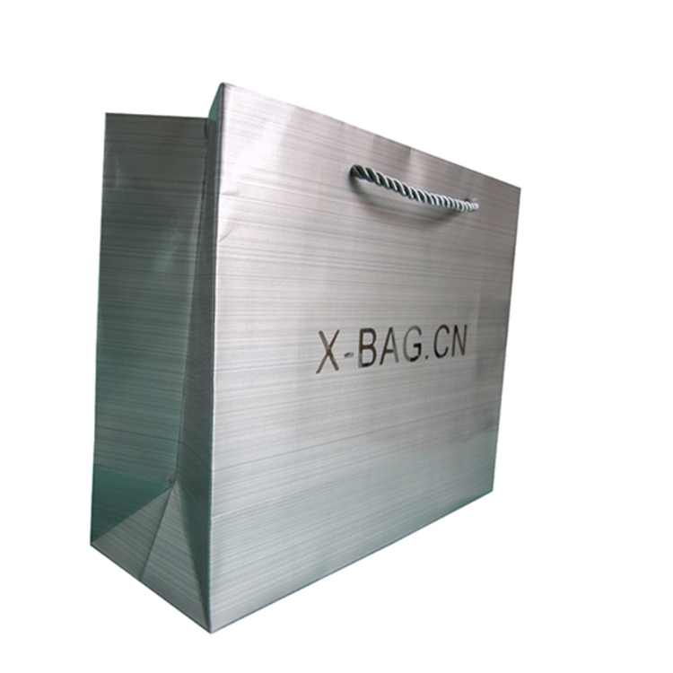 Hot Products Paper Shopping Bag Brand Name With Handles And Logo