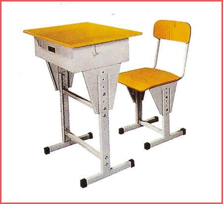 New design high school furniture desk and chairs