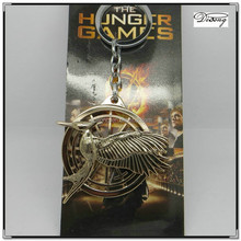 YS2362 Custom metal the hunger game key chain,the hunger game key ring,eagle key chain