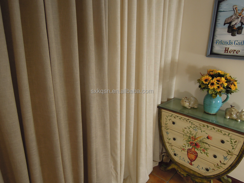 Factory price classic sheer curtains under drapes for privacy