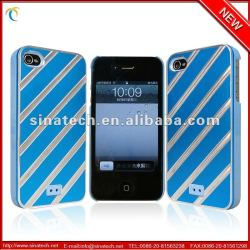 Factory Ultra thin film plastic caxe cover skin for iphone 4 4s 4g