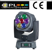 7x15W 4 IN 1 dj lights Rotating beam moving head
