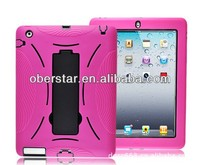 for ipad mini robot standing protective cover case/ tablet pc case for ipad mini