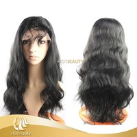 Brazilian hair bundle cheap Virgin Quality body wave Human Hair Full Lace Wig