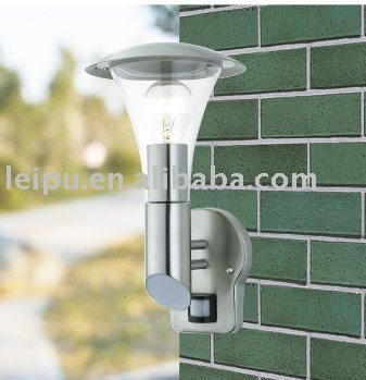 garden wall lamp with sensor