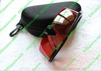 OXLasers Laser glasses Safety goggles for 190nm-450nm 600nm-540nm(for green laser/purple laser/blue laser) with carrying case