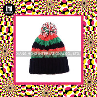 4BH06_BU_3G functional yarns outdoor funky teenagers knit hat