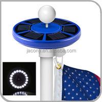 Blue Solar Flagpole Light Flag Pole Solar Lighting (CB-D628)