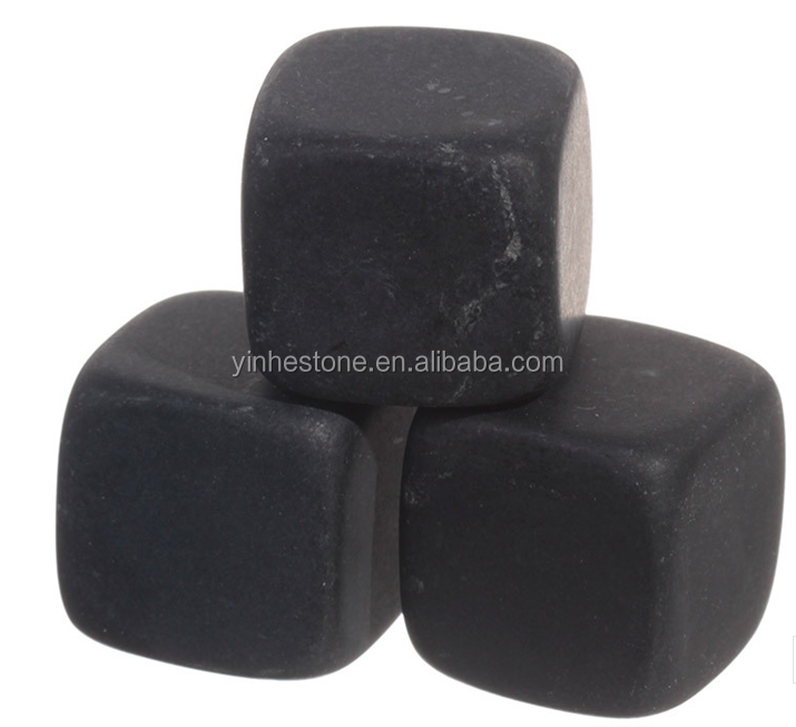 2016 Natural stone dice ice cube for whisky