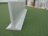 4.5inches solid FRP/GRP Fiberglass beams support for pig slats of the pig farming/support beams for construction