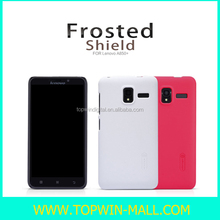 2014 New Product Nillkin Super Frosted Back Case For Lenovo A850+ Cover