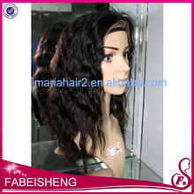 hot new products for 2014 100% Human Hair Wig Lace Front Wig/ Full lace wig in Stock High 130% - 160% Density