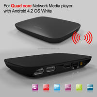 New Dual Quad 4Core Android 4.2 Smart TV Box Pro Android Media Player HDMI 1.4 Super HD 2160P 1080P WIFI HDM XBMC USB 3G dongle