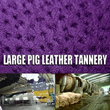 fabric lining Vegetable tanned pig split airconditioner split fashion sandal leather for pig Leather Footwear