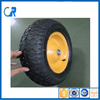 Qingdao factory direct suppling 14 inch rubber wheel parts for trolley