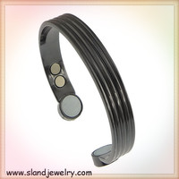Alibaba website China supplier magnetic hematite jewelry wholesale,black plated copper magnetic bracelet