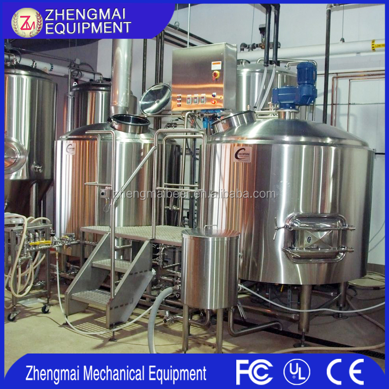 Manufacturing Plant 600L brewing equipment,Beer making machine micro brewery