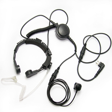 [M-E1975-M]Good quality Air Conduit Earpiece Throat Mic Headset For M plug Walkie Talkie/ Two Way Radio