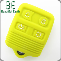 hot products to sell online Good quality cute silicone car remote key cover for Ford 4 buttons key case keyless storage key box