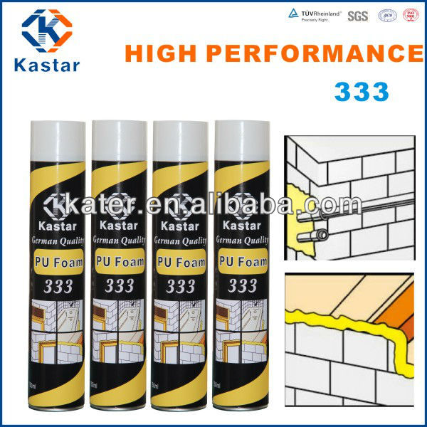 Spray Aerosol PU Foam KASTAR333