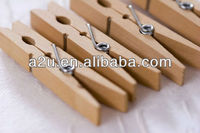 birch wooden strong spring cloth pegs