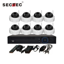 Wireless onvif security IP camera kits full HD cctv camera surveillance video systems