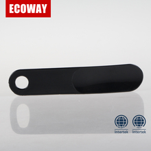 plastic shoe horn for shoe care travel use or hotel use
