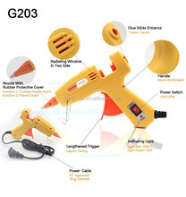 20W mini glue gun hot sale for DIY and craft