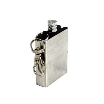 Custom metal oil fire lighter match