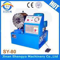 Lowest price in China! 2013 new products best-selling SY-80 gates hose crimping machine