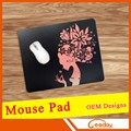 LoL rubber mouse pad high quality foshan free sample custom design rubber custom oppai mouse pad