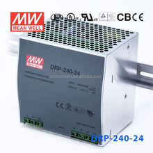 ORIGINAL Meanwell DRP-240-24 AC-DC Single DIN Rail 240W 24V 10A Switch Power Supply