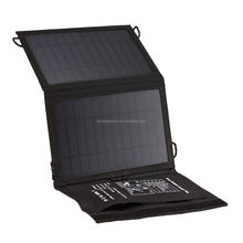 China Factory Offer Customized Mini Solar Panel 5V 7w Folding solar charger