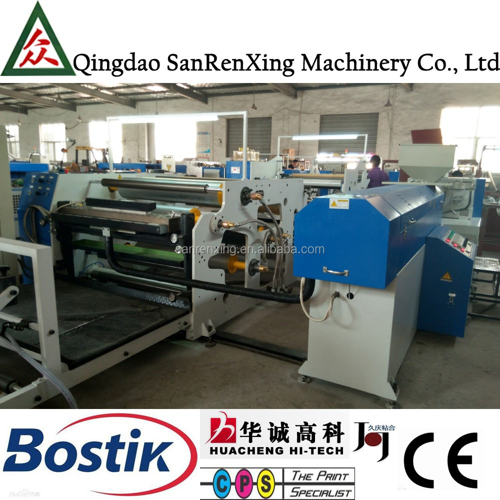 Hot sale semi-matte hotmelt adhesive lamination film extrusion coating machine