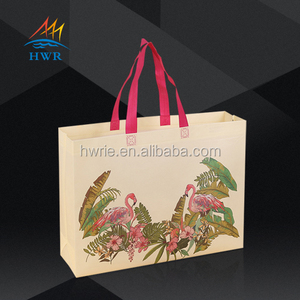 Wholesale Price Custom Printed Eco-Friendly Recycle PP Reusable Laminated Non Woven Tote Shopping Bags