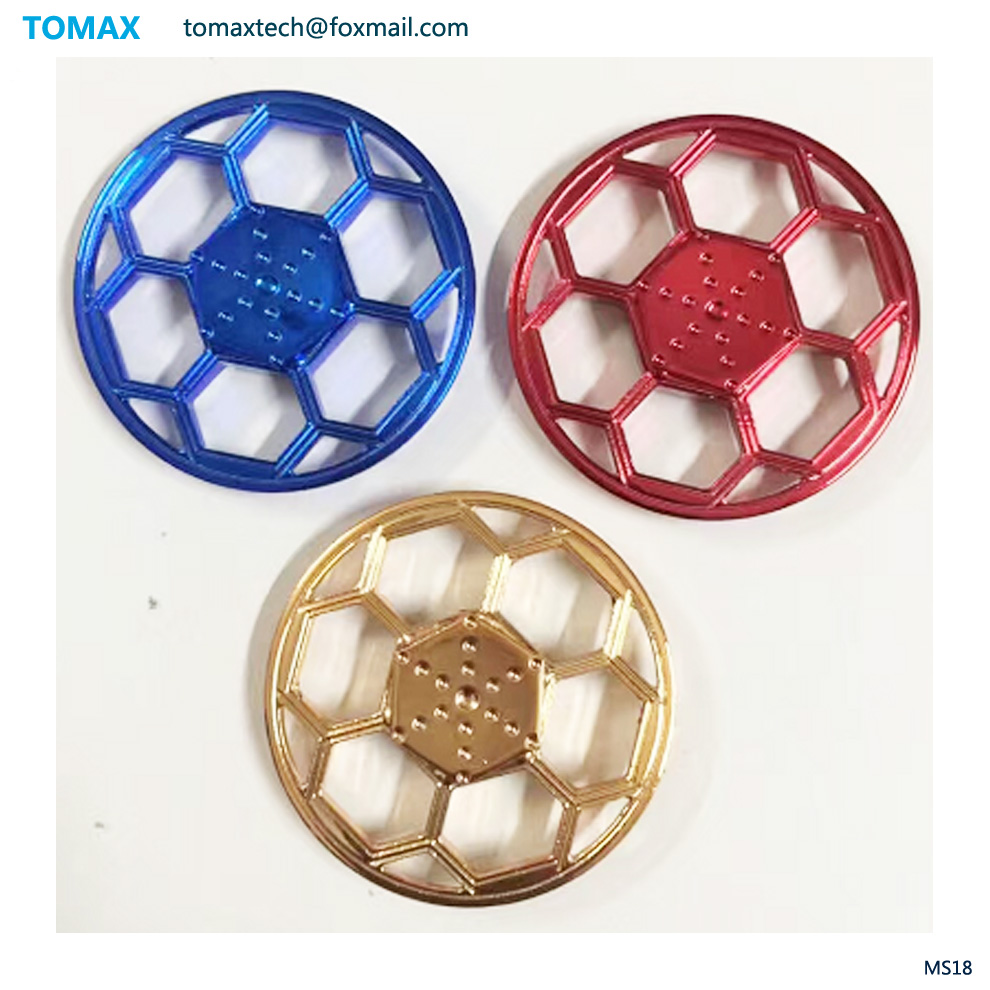 New design Metal Fidget Spinner Hand Finger Gyro EDC Focus Anti Stress Toy Gift lead free