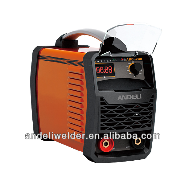 Inverter DC MMA small portable spot welding machine ARC-200G from famous brand in China