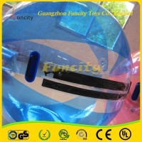 Summer sport games interesting adults inflatable human water sphere ball