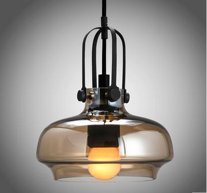 Modern Japanese-style chandelier ceiling light pedant lamps fixtures glass lampshades KC-D1497