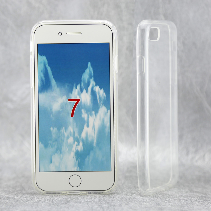 2016 New Arrival TPU Mobile Phone Case Transparent Clear for i 7