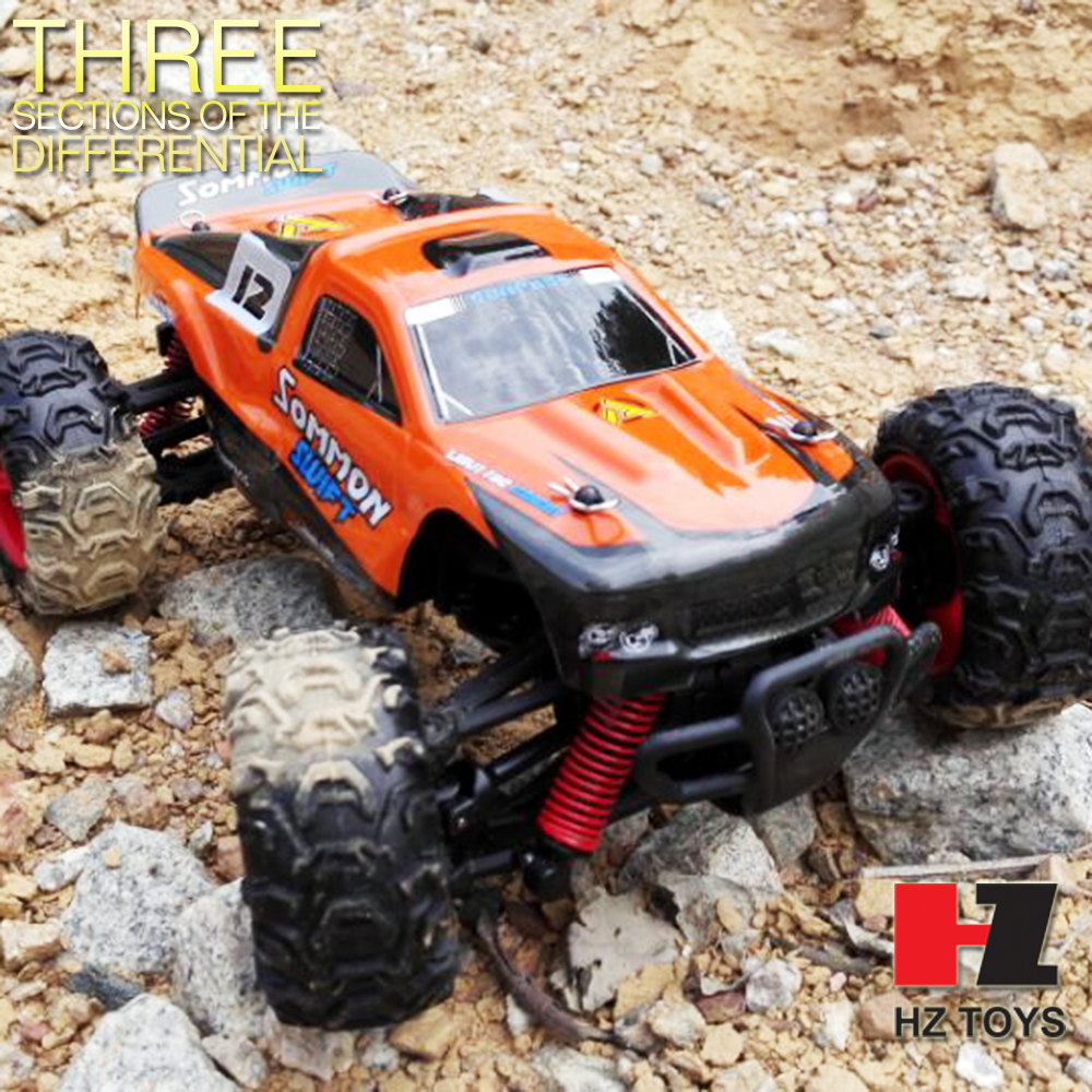 Toys Toys 1:24 scale 4WD gas powered rc monster trucks, gas powered rc race car