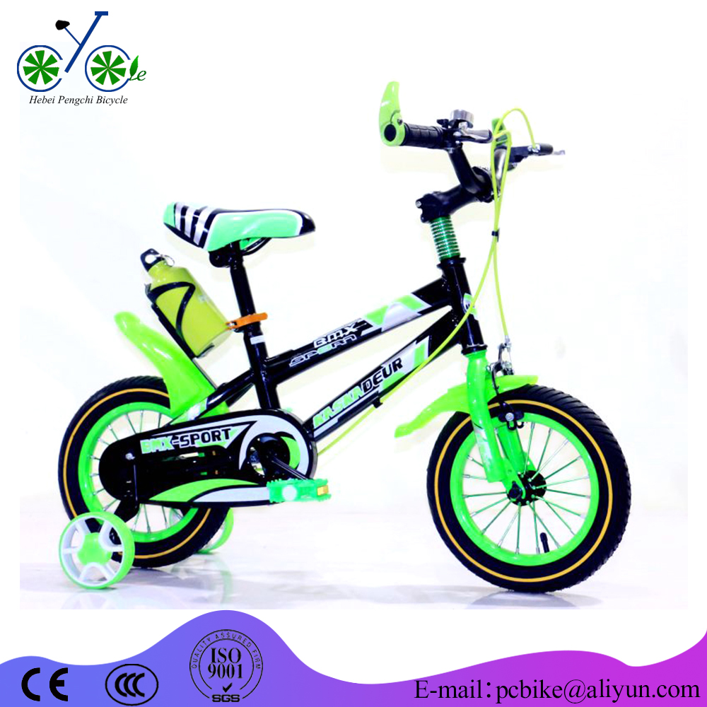 China best price kids bike/children bicycle with kettle yes with training wheel